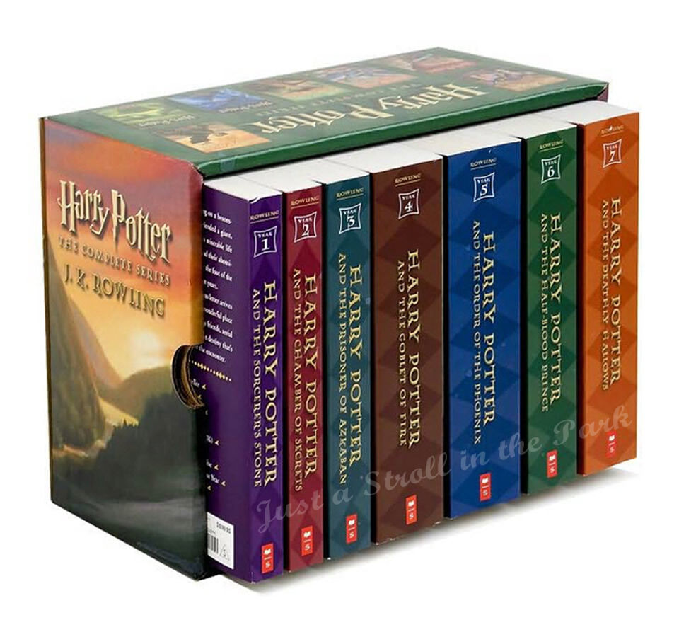 Harry Potter Complete Series Boxed Set Collection Jk