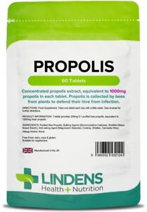 Propolis 1000 mg one-a-day (60 tablets) [Lindens 2124]