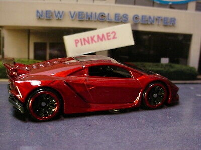 2019 HW EXOTICS Design LAMBORGHINI SESTO ELEMENTO☆Red/Black☆LOOSE Hot  Wheels