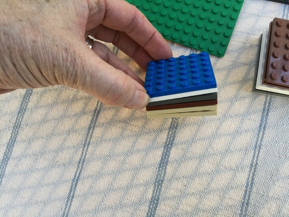 Lego Base Base Base Plate Lot 78 Variety Sizes And colors 89f985