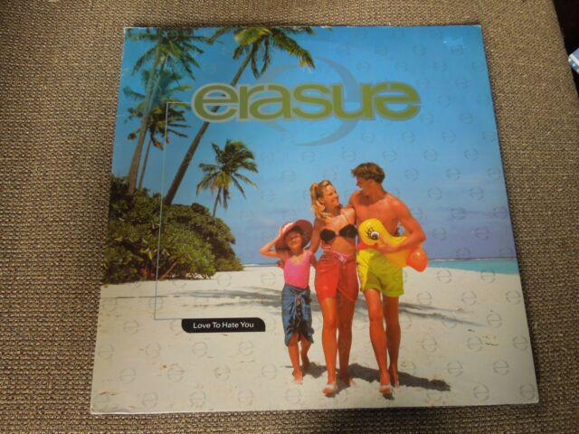 "Erasure Love To Hate You RARE 12"" Single"