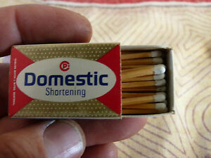 Rare-Vintage-Match-Box-Domestic-Shortening