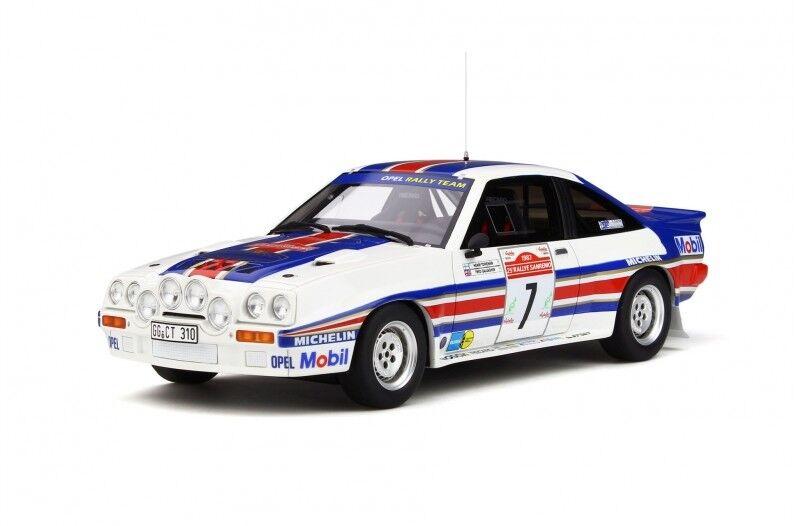 Otto opel manta 400r Gr. B toivonen rally san remo 1983 1 18