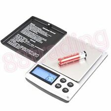 Small Mini Digital Pocket Size Weighing Weigh Scale 0.1g - 1kg Jewelry Kitchen