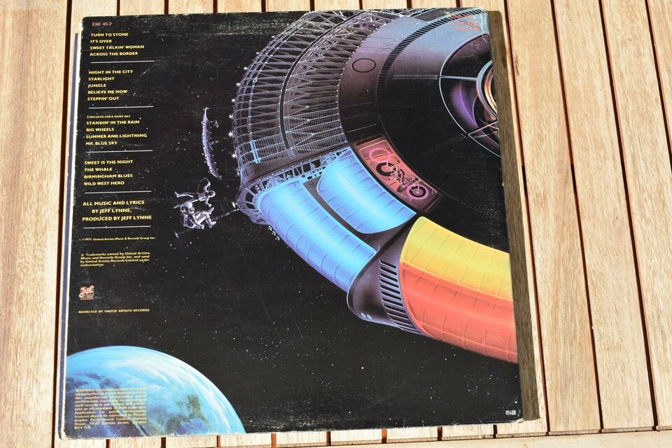 LP, ELO - Electric Light Orchestra, Out of the blue