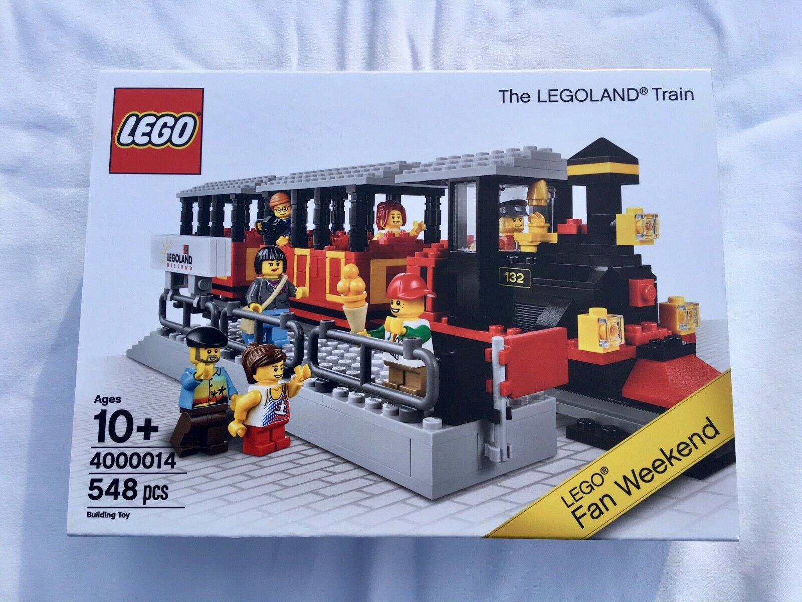 The Legoland Train 4000014 fan Weekend Exclusive Edition RARE, NEW AND SEALED