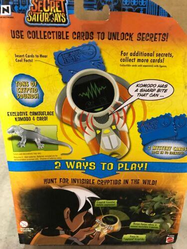 Secret Saturdays Zak/'s Cryptipedia Dinosaurio Komodo Hunter Fiesta Cumpleaños Regalo