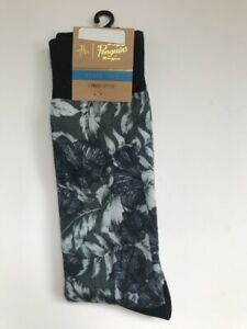 ORIGINAL PENGUIN Men's Socks One Size Combed Cotton NWT Leaves