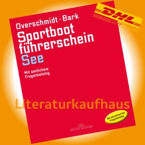 Sportbootfuehrerschein-SBF-See-Motor-Overschmidt-Lehrbuch-Pruefungsfragen-Buch
