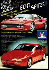 Italeri-- Echt Spitze -- Ferrari GTO + Porsche 944 turbo  --Werbung von 1986--