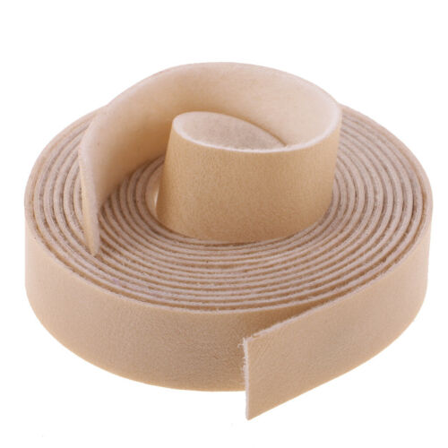 10 Meters 15mm Leather Strap Strips for Leather Craft Bag Handle Beige