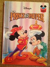 Walt Disney The Prince And The Pauper Wonderful World Of Reading Mickey Mouse