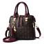 New fashion Women Handbag Shoulder Bags Tote Purse Zip Faux Leather Bag Satchel