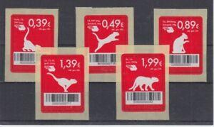 Mail-Felins-Erfurt-Chats-avec-Code-Barres-5-Valeurs