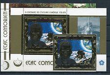 Komoren 323 Block 67 + 68 postfrisch / Weltraum - Kennedy ................1/1953
