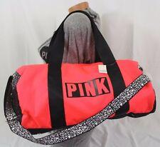 Item 2 Victoria S Secret Pink Duffle Bag Gym Travel Tote Neon Red Black White