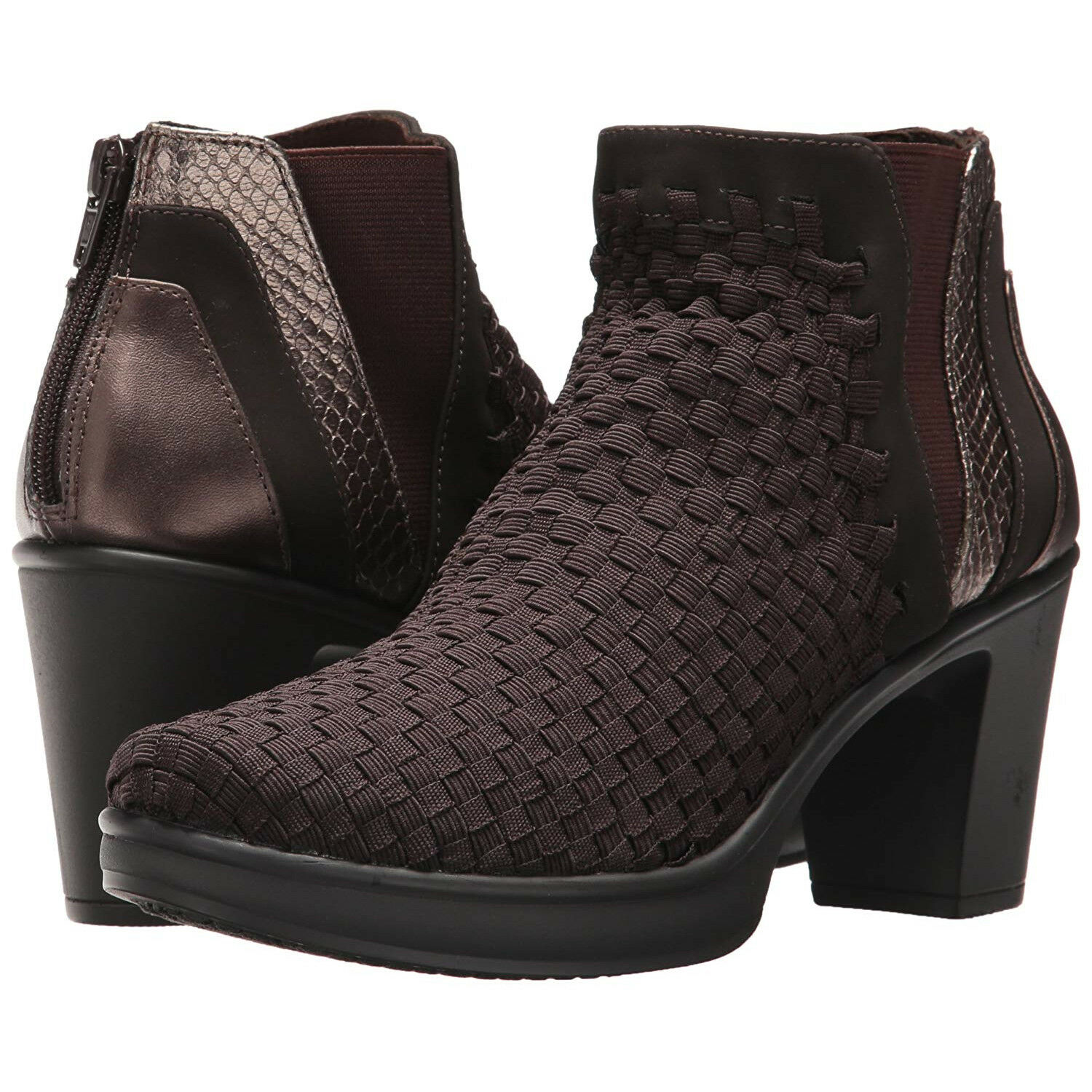 STEVEN by Steve Madden Women's Excit Ankle Booties Booties Booties (Brown, 7.5) ae5571