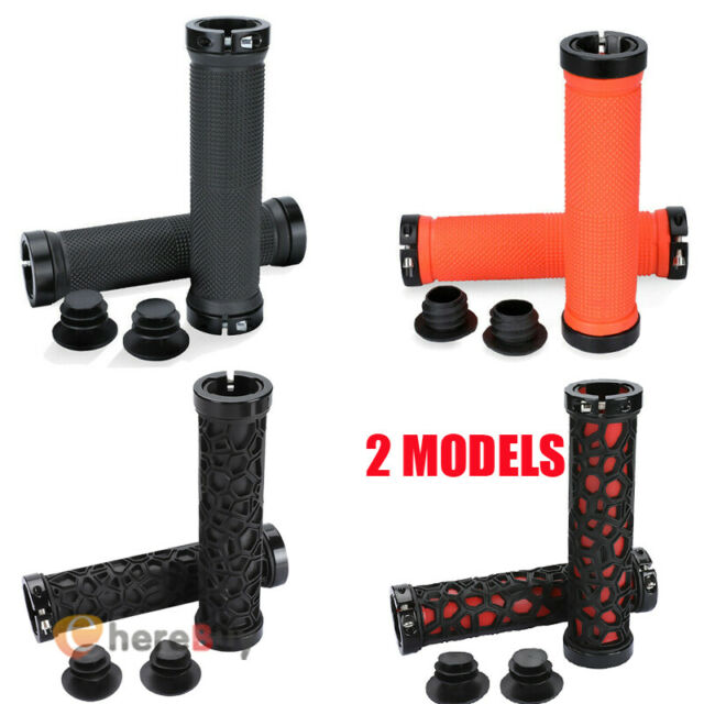 ROCKBROS Double Lock-on Bicycle Handlebar Grips MTB BMX Fixed Gear Bike