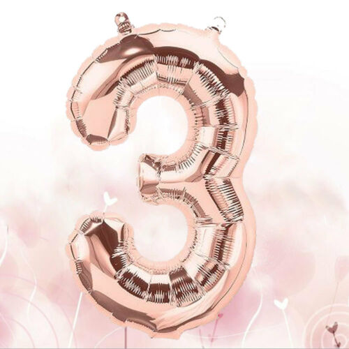 """40/"""" 32/"""" Giant Foil Balloons Large Helium Number Wedding Birthday Party Souvenirs"""