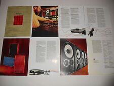 JBL Brochure  L100 Speaker 4311/4310 1975 Reprint, 8 page, Articles, Specs