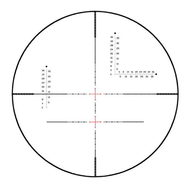 Visionking 10-40x56 Jagd Schießen Taktisch 35 Zielfernrohr Stoßfest für .308 .50