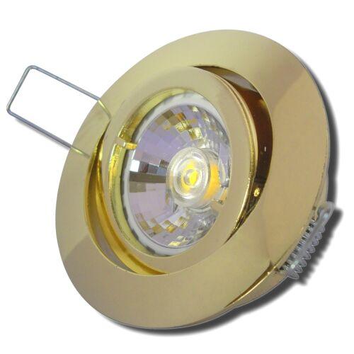 12VoltMCOB LED Einbaustrahler TimoGu5.3Fassung MR163WTrafo nötig