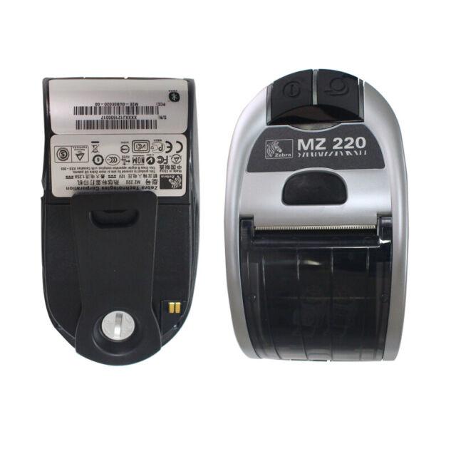 Zebra BLUETOOTH Printer MZ220 MZ 220 POS Point Of Sale Thermal portableLABEL