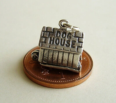 LOVELY  ' MAN IN THE DOGHOUSE ' OPENING SILVER CHARM