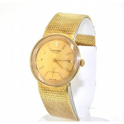 Longines 14K Yellow Solid Gold Men's  Watch