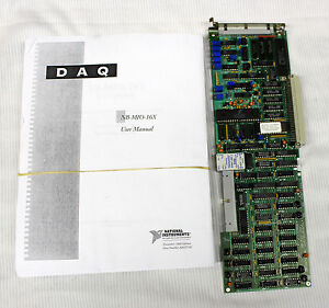 Apple-Macintosh-NuBus-NB-MIO-16X-Analog-Digital-I-O-Board-National-Instruments