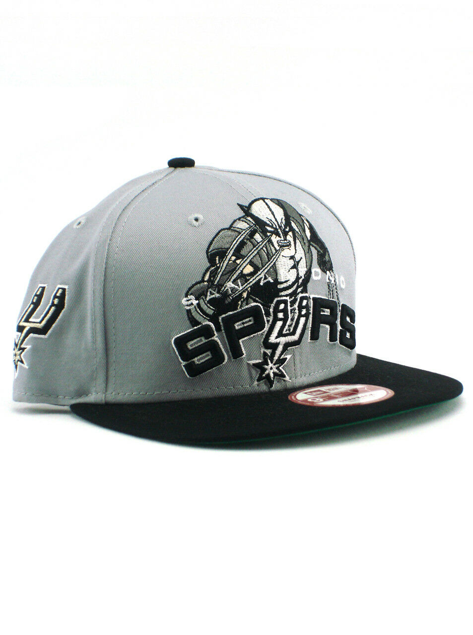 the latest f7db2 28877 ... czech new era nba san hat antonio spurs 9fifty snapback hat san  wolverine marvel adjustable acc73d