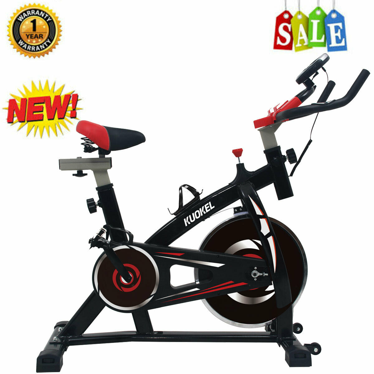 Pro Stationary Exercise Aerobic Bicycle Bike Cycling Cardio GYM Home Workout US aerobic bicycle bike cardio cycling exercise gym home pro stationary