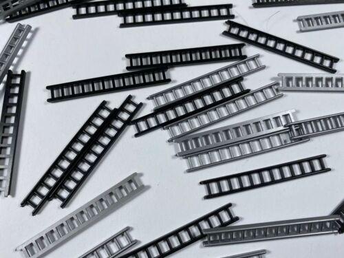 X20 HO  IMU Wiking Replika Leiter schwarz 40 STK 1:87 Ladegut Dekoration 1:90