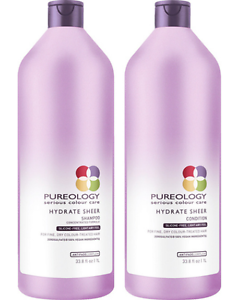 Pureology-Hydrate-Sheer-Shampoo-Conditioner-33-8-oz-Liter-Duo-Set