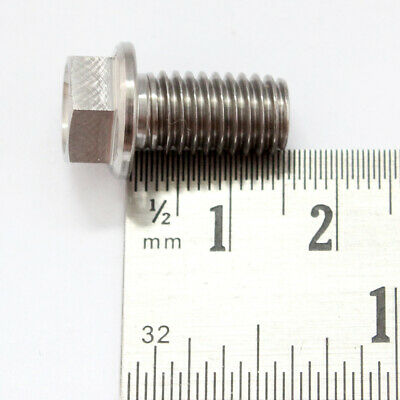 Lengths from 10mm to 40mm KTM M8 TITANIUM hex flange bolts