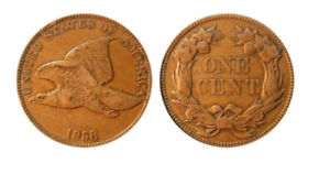 1856-1858 Flying Eagle Cent - The First Small Cent