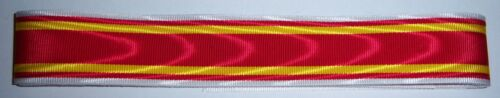 "BADEN Inc GERMAN War Merit Cross ribbon x 6/"" UK p/&p."