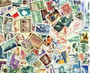 Chile-Stamp-Collection-200-Different-Stamps