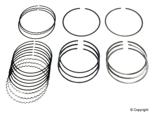 Npr Of America Engine Piston Ring Set Fits 1992 2001 Honda Prelude