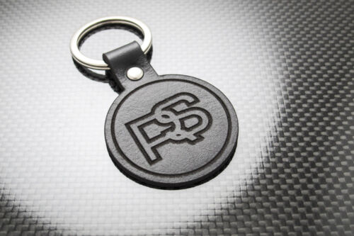 Escort RS 2000 Leather Keyring Keychain Schlüsselring Porte-clés RS2000 FORD Mk2