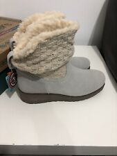 Womens Skechers Toasty Toes BOOTS Size UK 6 Memory Foam QFCDs