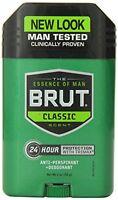 6 Pack - Brut Anti-perspirant Deodorant Stick Classic Scent 2 Oz Each on sale
