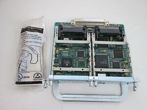 Cisco 10/100 Ethernet 2 WAN Card Slot Network Module (NM-1FE2W) - Sealed
