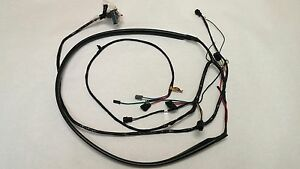 s-l300  C Wiring Harness on rat truck, lowered 2 inch, pick up open hood, truck rally wheels,
