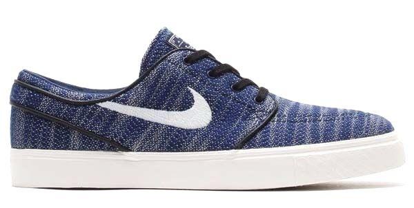 Nike ZM STEFAN JANOSKI EXP PQS Obsidian Ivory 678420-401 Skate (435) Men's Shoes