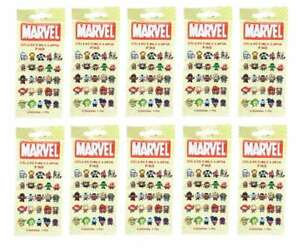 Details about MARVEL COLLECTIBLE LAPEL PINS LOT (10) SEALED BLIND BAGS (25  TO COLLECT) TY382