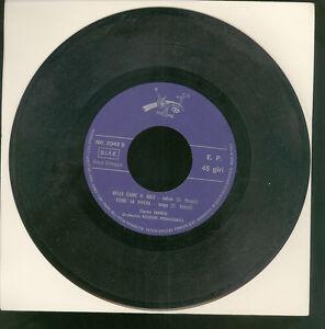 """VARIOUS – LIDIA / MARIO & ALLEGRI ROMAGNOLI  7"""" (1965 )"""