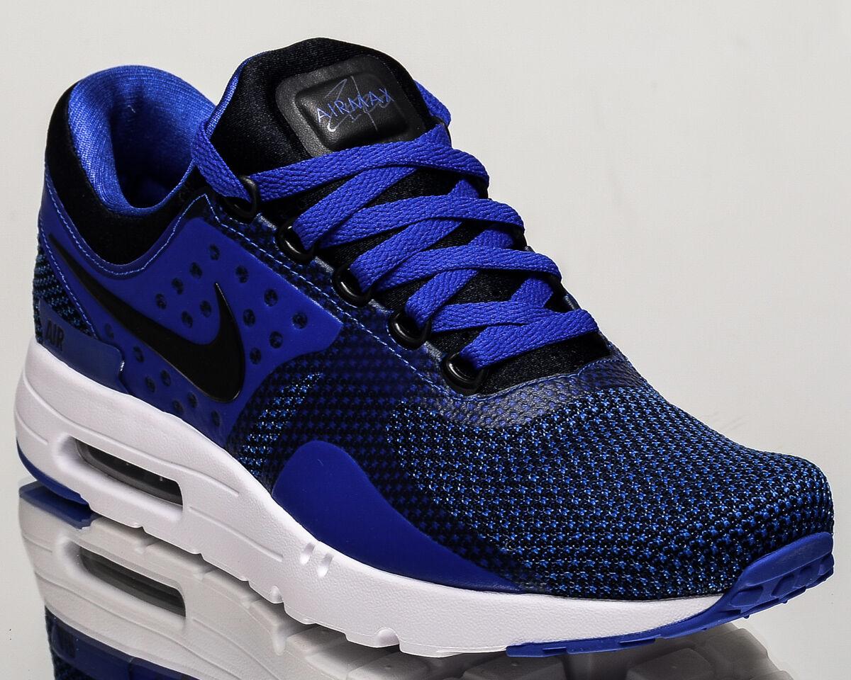 Nike Air Max cero esencial nuevos Zapatos vida  de estilo de vida Zapatos 0 Hombres Negro Azul 876070001 ca1301