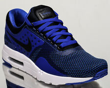 Nike Air Max Zero Essential 0 men lifestyle shoes NEW black blue 876070-001