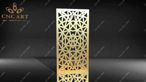 water jet Nice panel model DXF and EPS File CNC Plasma laser P48 Router